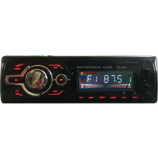 Dulcet Fixed Panel Single Din Mp3 Bluetooth/USB/FM/AUX/MMC Car Stereo With Premium 3.5mm Aux Cable DC-A-4009 Car Stereo