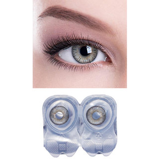 grey color monthly contact lens 1 pair