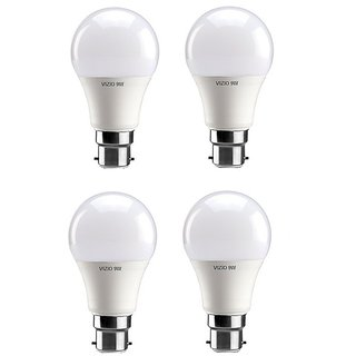 Vizio 9 Watt Premium Quality Led Bulbs (pack of 4) with 1 year warranty