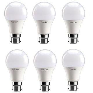 Vizio 12 Watt Premium Quality Led Bulbs (pack of 6) with 1 year warranty