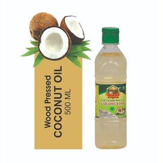 Aditha Cold Pressed Coconut Oil 500 Ml