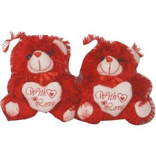 oril set of 2 lovely teddy - 8 inch