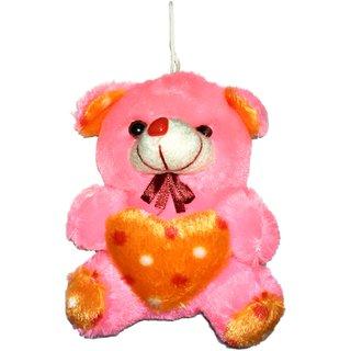 Oril smooth teddy bear -8 inch peach colour