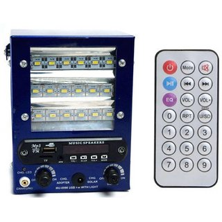 Radio,USB,AUX cum speaker 18 LED emergency light with rechargeable battery