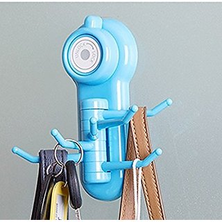 s4d Powerful Wall Sucker Vacuum Suction Cup Hook Hanger Multicolor