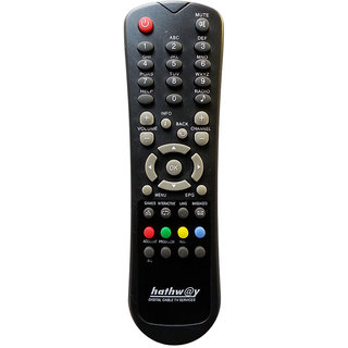 HATHWAY DTH REMOTE CONTROL FOR HATHWAY SD SET TOP BOX BEST QUALITY TD-R1