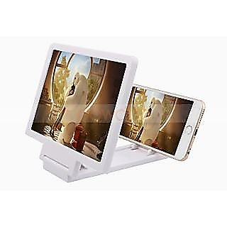 Mobile Phone HD Screen Magnifier Stand with Flexible USB LED ...