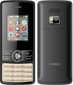 I Kall K24 (Dual Sim, 1.8Inch, FM, Blutooth, Black) Mul