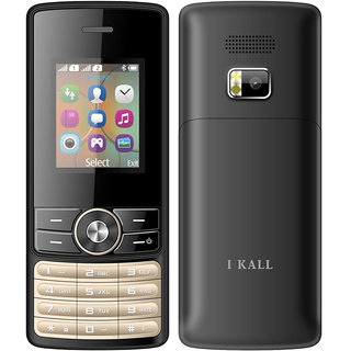 I Kall K24 (Dual Sim, 1.8Inch, FM, Blutooth, Black) Multimedia Mobile Phone with 1 year Manufacturing warranty