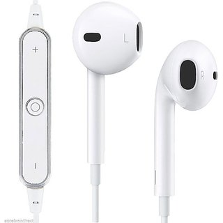 KSS High Sound Quality In-Ear Bluetooth Headphone Freestyle Headset mini wireless Stereo Headset-White