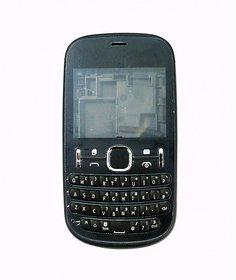 Full Body Housing Panel For Nokia Asha 200 Black