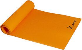 Kurvz Eco Friendly Anti Skid Yoga  Exercise Mat (4mm) Orange