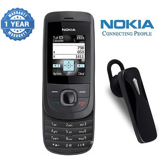 Nokia 2220 / Good Condition / Certified Pre Owned (1 Year Warranty) with Bluetooth