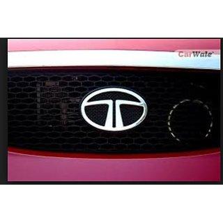 Tata Indica Vista Monogram Emblem Decal Logo Chrome FRONT LOGO