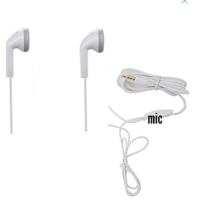 3.5mm Jack In-ear Handsfree 1 Headset  Headphone  With Mic For Smartphone