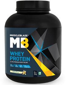 MuscleBlaze Whey Protein, 4.4 Lb Vanilla
