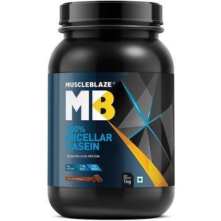 MuscleBlaze 100% Micellar Casein 2.2 lb Chocolate