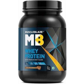 MuscleBlaze Whey Protein 2.2 lb Cafe Mocha