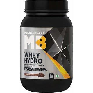 MuscleBlaze Whey Hydro 2.2 lb Rich Milk Chocolate