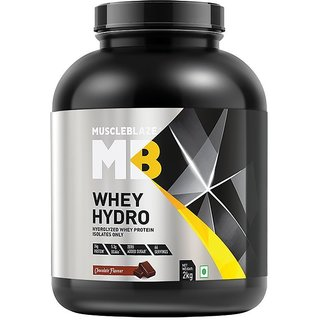 MuscleBlaze Whey Hydro, 4.4 lb Rich Milk Chocolate
