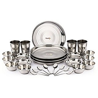 London House - Premium Stainless steel 28 pcs dinner set