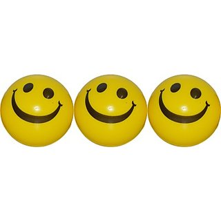 RNY Smiley FACE SQUEEZE BALL FOR YOUR CHILDREN (PACK OF -3)