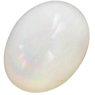 Natural opal Stone 5 Ratti (4.6 carats) Rashi Ratna  Origional and Certified by GEMOLOGICAL LABORATORY OF INDIA (GLI) Precious Gemstone Unheated and Untreated Top Quality Gems for Astrological Purpose by Accurate Traders