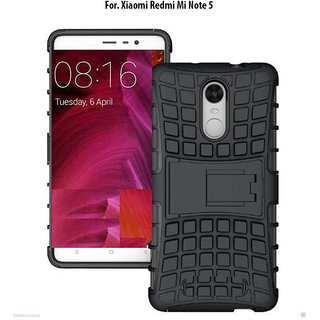 Redmi Note 5  - KickStand Hybrid Warrior Armor Defender Back Case Cover For Redmi Note 5.