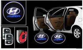 Car Logo Shadow Door Light / Ghost Shadow Door Lights with Hyundai Logo for All Hyundai Cars (works with all cars)