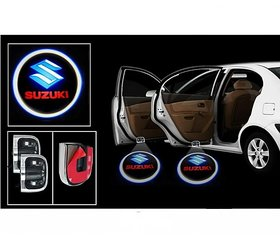 Car Logo Shadow Door Light / Ghost Shadow Door Light with Suzuki Logo for All Maruti n Suzuki Cars (works with all cars)