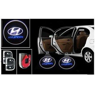 Car Logo Shadow Door Light / Ghost Shadow Door Lights with Hyundai Logo for All Hyundai Cars (works with all cars)