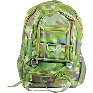 659a8b0cd9eb Buy SPERO army print Waterproof Backpack school bag college Bag trecking bag  (Multicolor