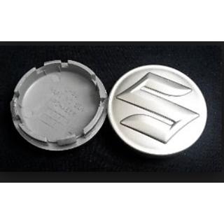 Set of 2c 54mm Silver Wheel Hub Center Caps/Alloy Wheel cap Block Covers Emblem For Suzuki Swift SX4,Ertiga,WR2011 Onwar
