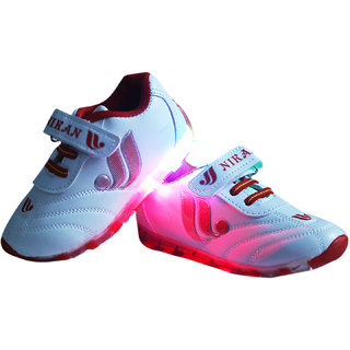 LNG Lifestyle Led Lights Shoes Boy Girl (LNG-53Red)