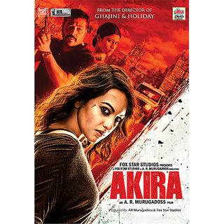 AKIRA Hindi Movie 2016 DVD