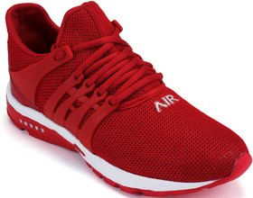 Clymb Mapro Red Running Sports Shoes For Men's In Vario