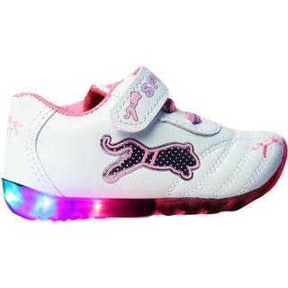 LNG Lifestyle Led Lights Shoes Boy Girl (LNG-54Pink)