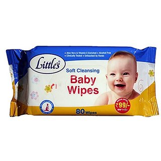 Littles bay wipes Pack of 3
