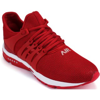 Clymb Mapro Red Running Sports Shoes For Men's In Various Sizes