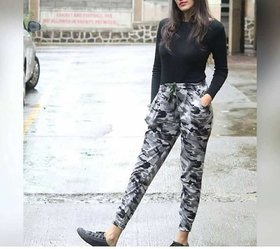 U.S ARMY Grey Camouflage Print Women's Jegging /Track Pant /Yoga Pant /Gym Pants /Casual Pants