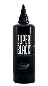 Zuper Black Dark Lining Tattoo Ink 12-oz
