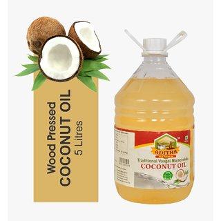 Aditha Cold Pressed Coconut Oil 5 L