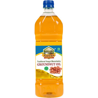 Aditha Cold Pressed Groundnut Oil 500 ML
