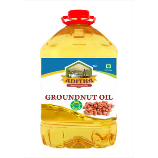 Aditha Cold Pressed Groundnut Oil 5 L