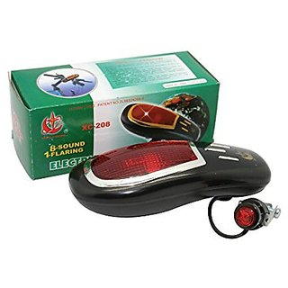 Bicycle Electric Horn 8 Sound -1 Flaring- XC-208 (Color May Vary)