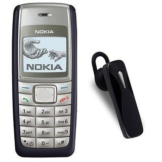 Nokia 1110 / Good Condition/ Certified Pre Owned (1 Year Warranty) With Bluetooth