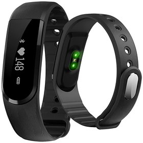 Deals e Unique Smart Fitness Bands Smart Watch with Heart Rate Sensor, Pedometer and Sleep Monitoring Multi-Functions
