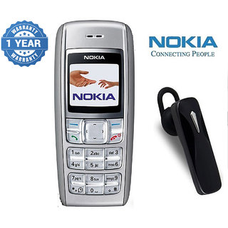 Nokia 1600 / Good Condition/ Certified Pre Owned (1 Year Warranty) with Bluetooth