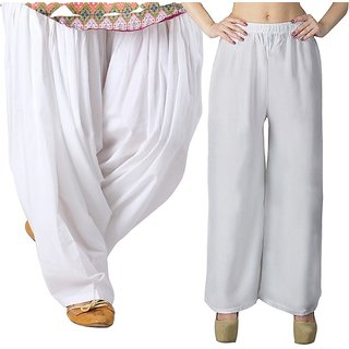women  Palazzo pant trousers with Patiala Salwar ,pajama
