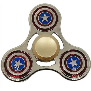 Captain America Action Spin Metal with Long Spin Bearing
